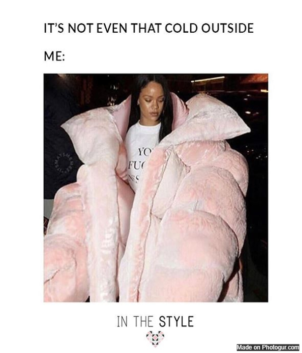 It's not even that cold outside