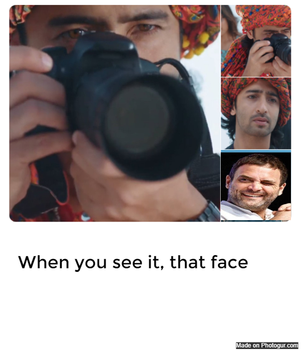 When you see it, that face