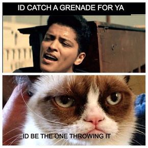 ID catch a grenade for ya