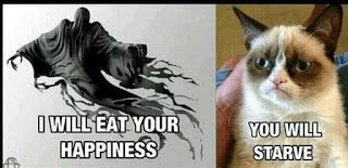 I will eat your happiness